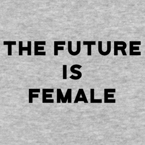 The Future is Female - Baseball T-Shirt