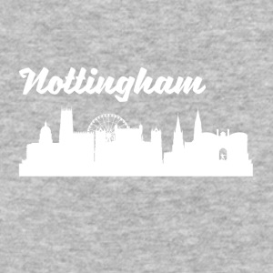 Nottingham Skyline - Baseball T-Shirt