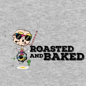 Blind Hippie a la ROASTED AND BAKED - Baseball T-Shirt