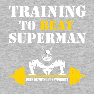 Beat Superman - Baseball T-Shirt