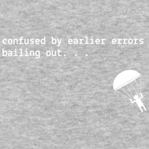 Confused Compiler Error - Baseball T-Shirt
