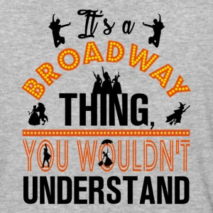 Broadway Shirt. - Baseball T-Shirt