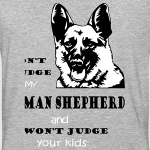 Don t judge my german shepherd and i won t judge y - Baseball T-Shirt