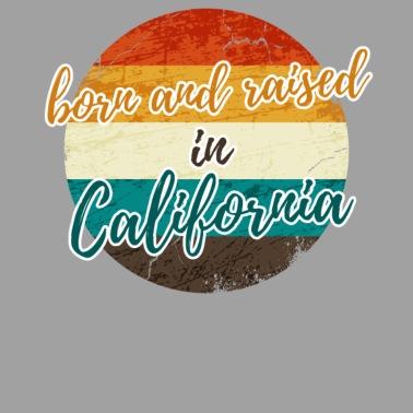 Vintage T Shirt Birthday California Gift Tee