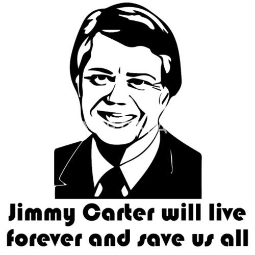 jimmy cart will live forever unisex baseball t