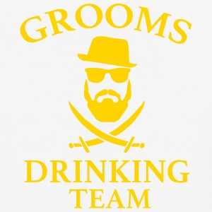 Groom's Drinking Team Bachelor party t-shirts - Baseball T-Shirt
