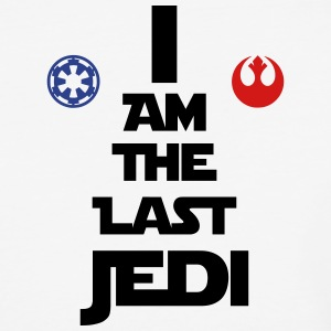 I Am The Last Jedi - Baseball T-Shirt
