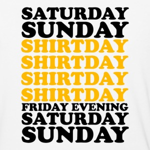 SATURDAY SUNDAY SHITDAY - Baseball T-Shirt