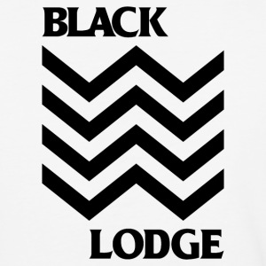 Black Lodge - Baseball T-Shirt