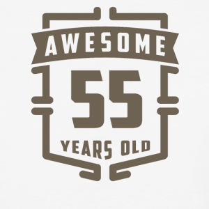 Awesome 55 Years Old - Baseball T-Shirt