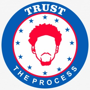 TRUST THE PROCESS 1 - Baseball T-Shirt