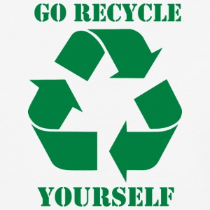 Go Recycle Yourself - Baseball T-Shirt