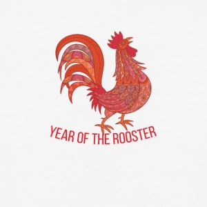 Year of Rooster - Happy new year 2017 - Baseball T-Shirt