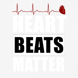 heart beats matter - Baseball T-Shirt