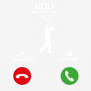Call Mobile Anruf golf golfing - Baseball T-Shirt