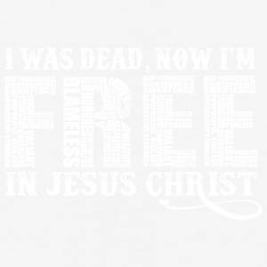 Free In Christ Jesus - Baseball T-Shirt