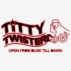 Titty Twister - Baseball T-Shirt