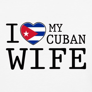 Cuban Wife - Baseball T-Shirt