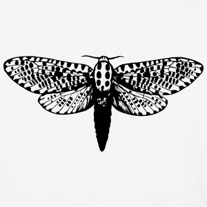 Moth Illustration - Baseball T-Shirt