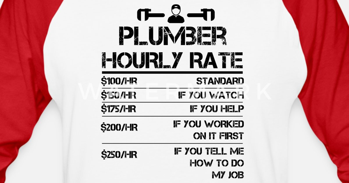 Funny Plumber Hourly Rate Labor Cost Plumbing Jokes Gag Gift  Funny Plumber Labor Rate Signs