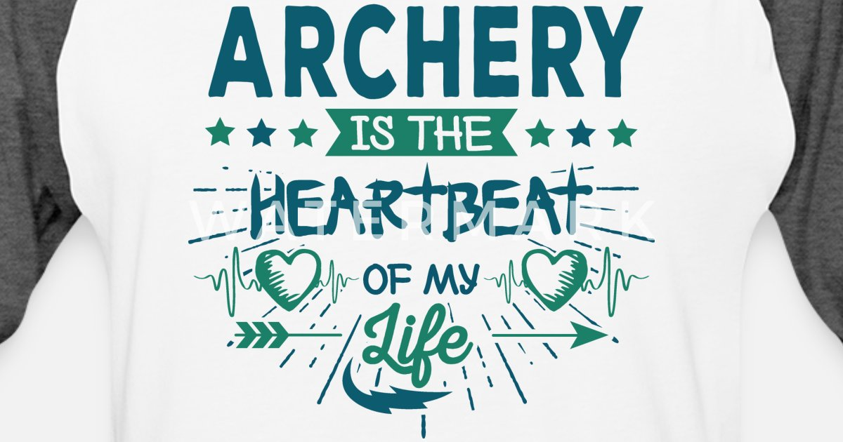 Cute Unique Archery Love Quotes Sayings Gift Idea Unisex Baseball T