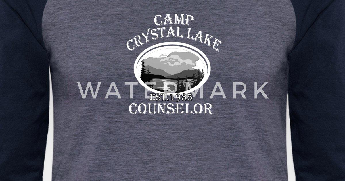 e6578aadb5d3 Camp Crystal Lake EST. 1935 Counselor Unisex Baseball T-Shirt ...