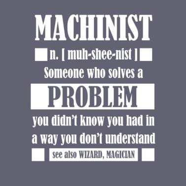 bbef6f443c Machinist Gift Tee Funny Machinist Dictionary Term - Unisex Baseball T-Shirt