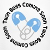 Twin Boys Coming Soon - Women's Maternity T-Shirt