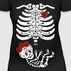 Maternity Sugar Skull Girl - Frida - Women's Maternity T-Shirt