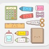 Kawaii School Supplies - Mouse pad Horizontal