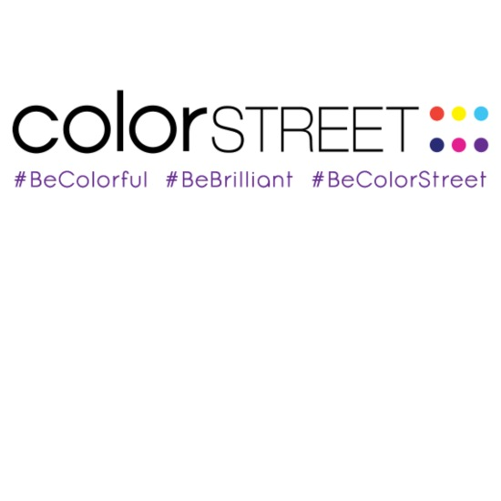 Color Street Long Color Becolorstreet Mouse Pad Horizontal White