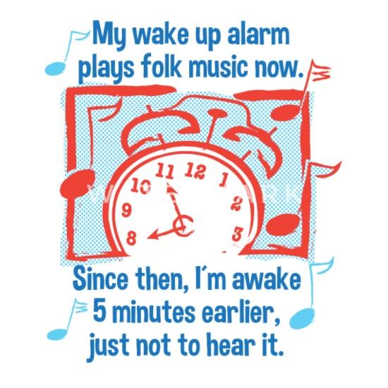 Folk Music Funny Saying Humorous Brass Band Mouse pad Horizontal - white