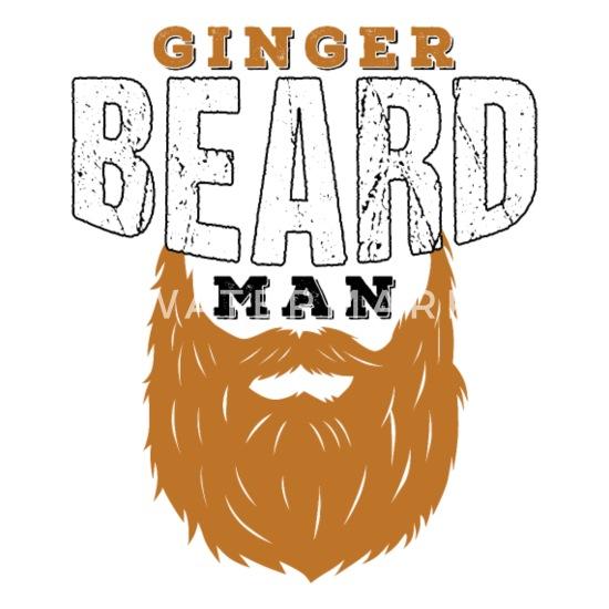 Ginger Beard Man Redhead Gifts For Men