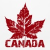 Cool Canada Souvenir Distressed Maple Leaf Art for - Mouse pad Horizontal