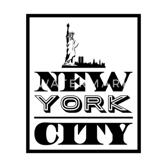 Mouse PadNew York City NYC Big Apple Print Gift Ideas