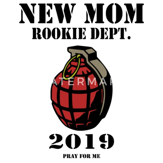 New Mom Rookie Dept 2019 To Be Mouse Pad Horizontal