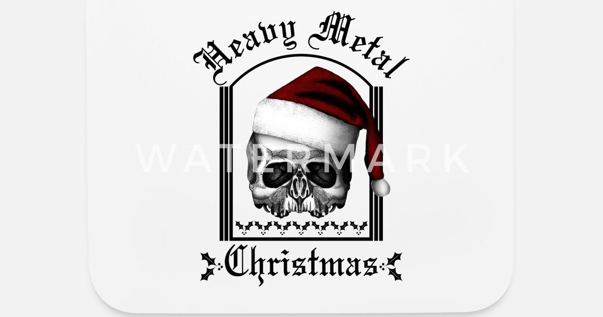 Heavy Metal Christmas.Heavy Metal Christmas Mouse Pad Spreadshirt