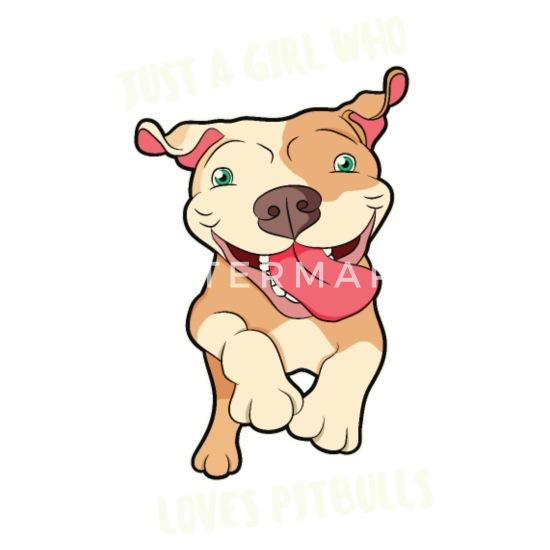 Funny Staffbull Battle Dog List dog sayings Mouse pad Horizontal - white