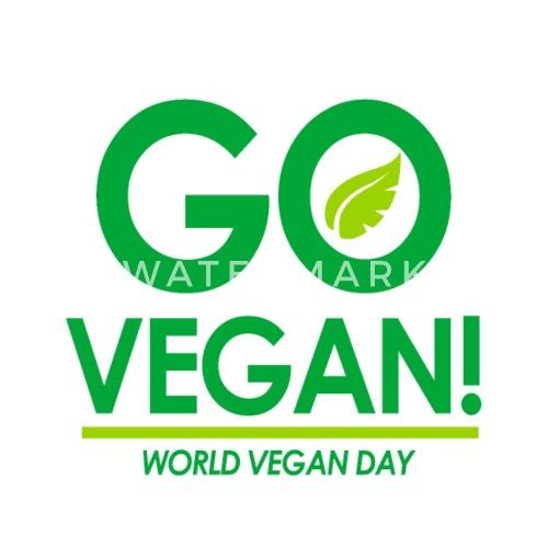 Mouse PadGo Vegan World Day Gift Idea Birthday Xmas