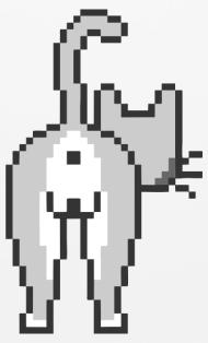 Ass Pixel Art