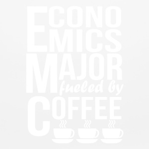Economics Major Fueled By Coffee - Mouse pad Horizontal
