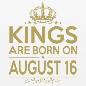 Kings are born on August 16 - Mouse pad Horizontal