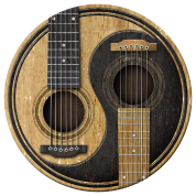 Acoustic Guitars Yin Yang