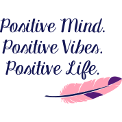 Positive Mind Positive Vibes Positive Life Womens Hoodie