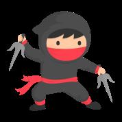 little ninja kid with sai by rustydoodle spreadshirt