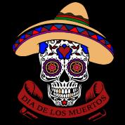 dia de los muertos skull by quentin1984 spreadshirt