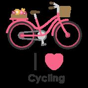 I Love Cycling Two Tone Mug Spreadshirt