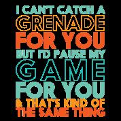 Funny Geek Gamer Love Quote Mens Premium T Shirt Noble Brown