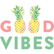 ad good vibes pineapples by adgraphic spreadshirt
