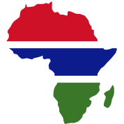 Gambia On Africa Map.Gambia Flag Africa Map Men S T Shirt Spreadshirt